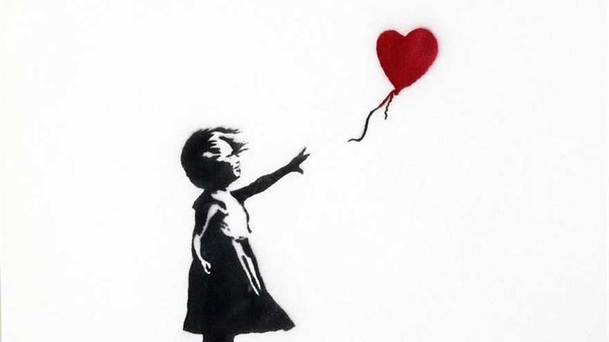 Amberes acoge la obra irreverente de Banksy, el misterioso artista del espray