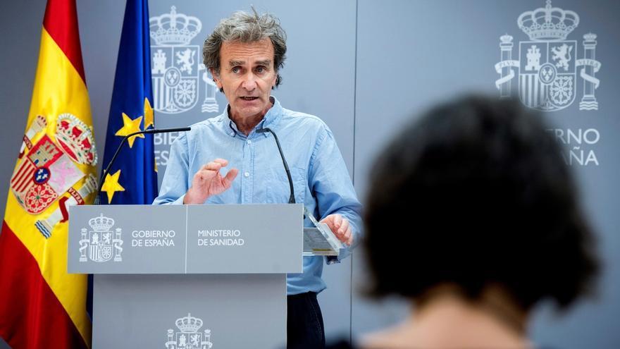 El director del Centro de Emergencias y Alertas Sanitarias, Fernando Simón.