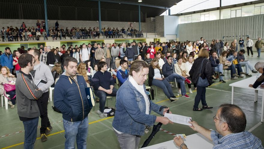 Unos 4.000 aspirantes optan a las 178 plazas de Secundaria en las pruebas que se celebran el lunes