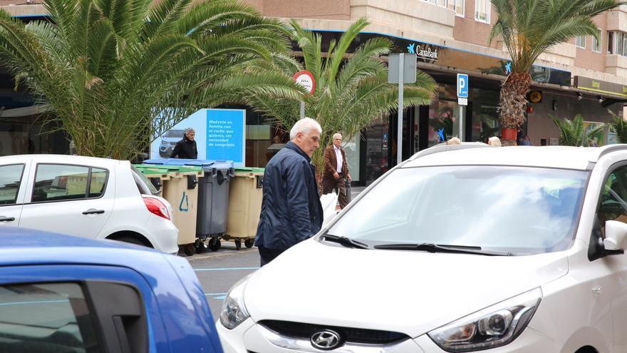 Gonzalo Parada, este jueves tras salir del Consulado Honorífico de Rusia.