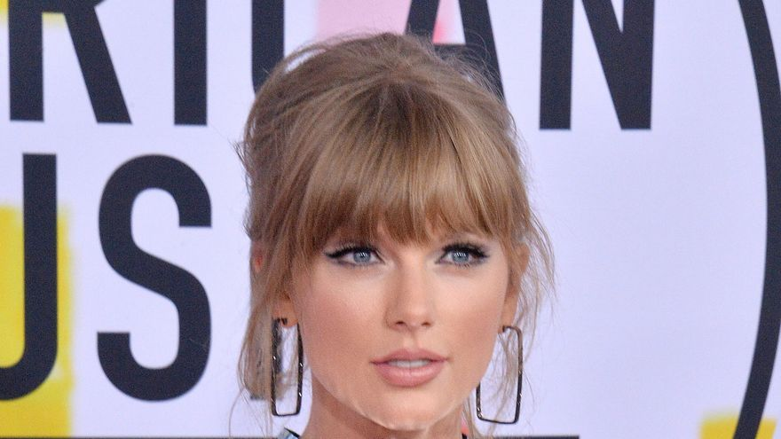 La cantante Taylor Swift, en una entrega de premios celebrada en octubre de 2018.