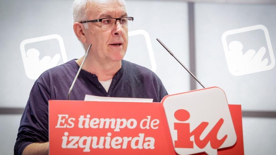 """Cayo Lara arremete contra Espinar: """"Especular es especular, lo diga Agamenón o su porquero. Punto"""""""