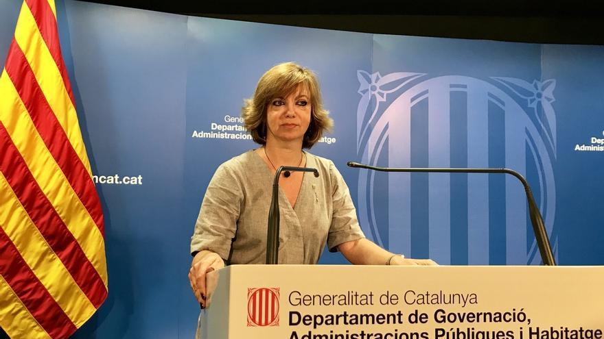 La consejera catalana de Gobernación garantiza urnas para el referéndum del 1-O