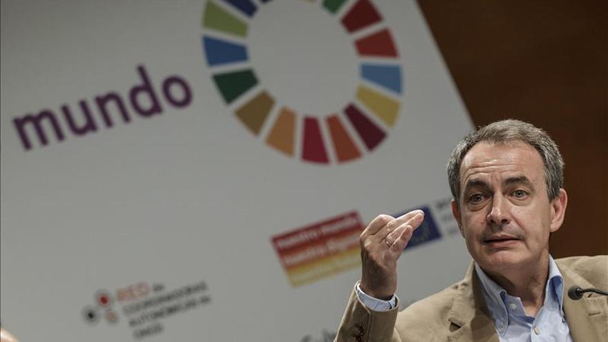 """Zapatero pide que cesen los discursos """"inflamados"""" en Venezuela"""