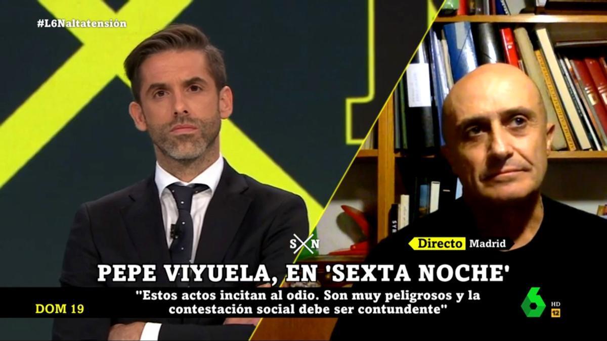 Pepe Viyuela, en 'laSexta Noche'