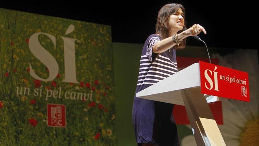 """Parlon optará a las primarias para """"renovar"""" el PSC y ofrece un pacto a Iceta"""