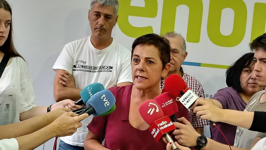 """EH Bildu mantiene su posición de """"poner un veto a la derecha"""" pero no decidirá su postura hasta saber qué ofrece Sánchez"""