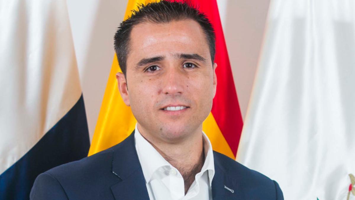 Ángel Luis Sabroso, concejal del Partido Popular en el Ayuntamiento de Las Palmas de Gran Canaria