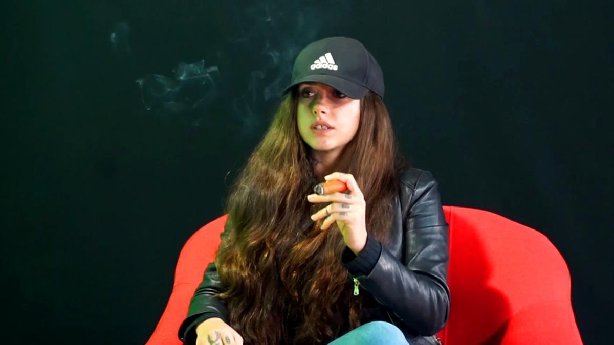 Carlota Prado en su entrevista con Coto Matamoros