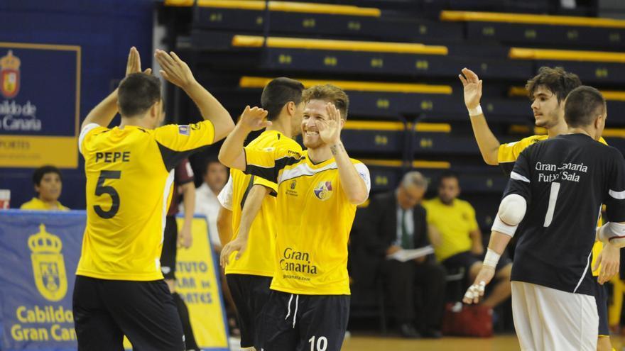 Los jugadores del Gran Canaria FS.