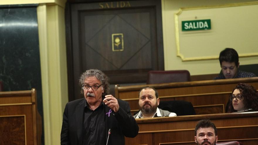 """ERC exigirá mañana en el Congreso la devolución """"inmediata"""" a Cataluña de los restantes 'papeles de Salamanca'"""