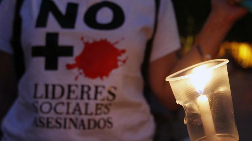 En Colombia han sido asesinados 25 defensores de DD.HH. en el primer trimestre