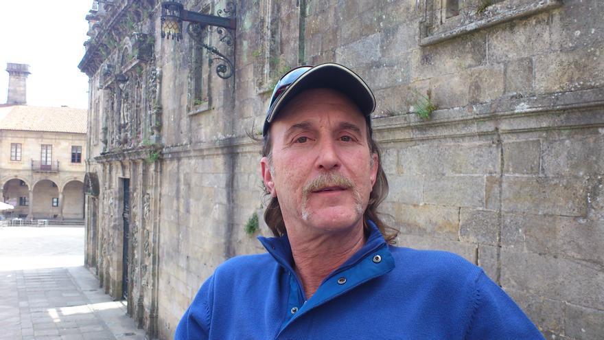 Ray Krone en Santiago de Compostela