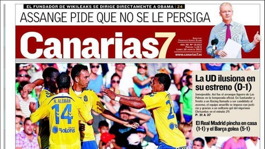 De las portadas del día (20/08/2012) #2