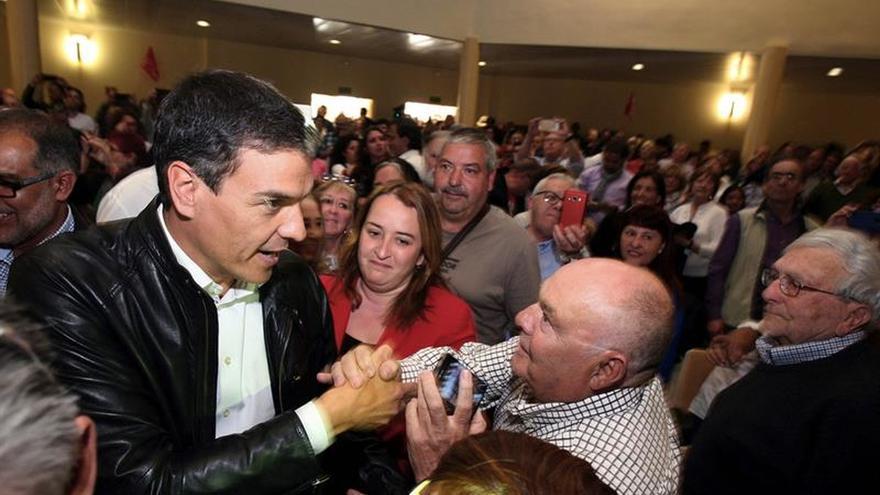 """Pedro Sánchez: """"España es una nación de naciones y Cataluña es una nación"""""""