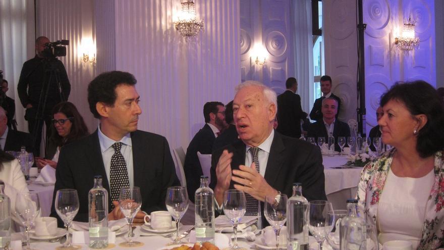 """García Margallo admite errores del Gobierno en Cataluña pero avisa de que """"no puede tolerar"""" un referéndum"""