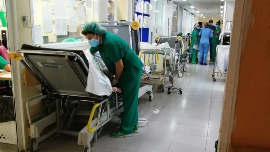 CSIF denuncia el tercer colapso en poco más de un mes en las Urgencias del Hospital Virgen de la Salud de Toledo