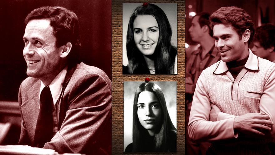 Ted Bundy, en el documental y en la película interpretada por Zac Efron