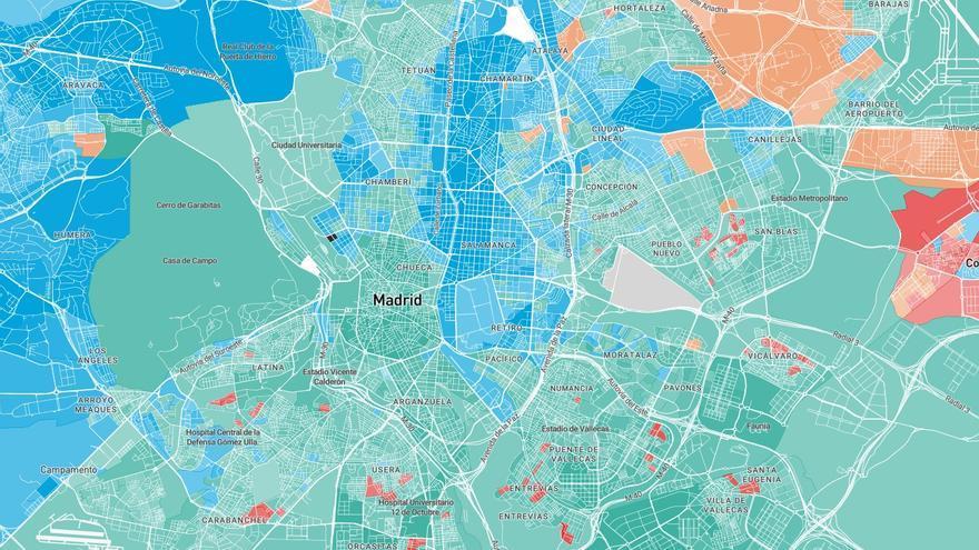 Mapa De Las Palmas De Gran Canaria Calles.Mapa Que Votaron Tus Vecinos En Las Elecciones
