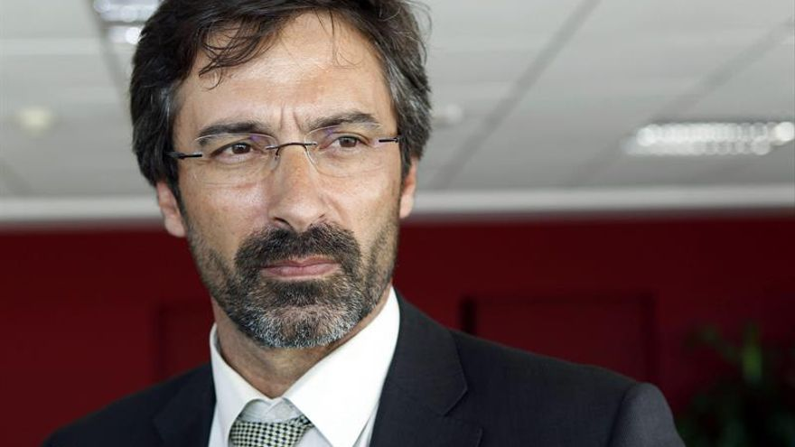 El presidente del Cabildo de Lanzarote, Pedro San Ginés.