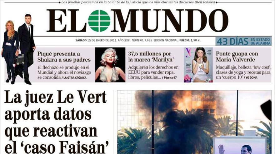 De las portadas del día (15/01/2010) #5