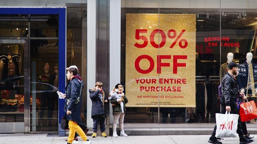 Los precios al consumidor en EE.UU. suben 0,5% en septiembre, la mayor alza en 8 meses