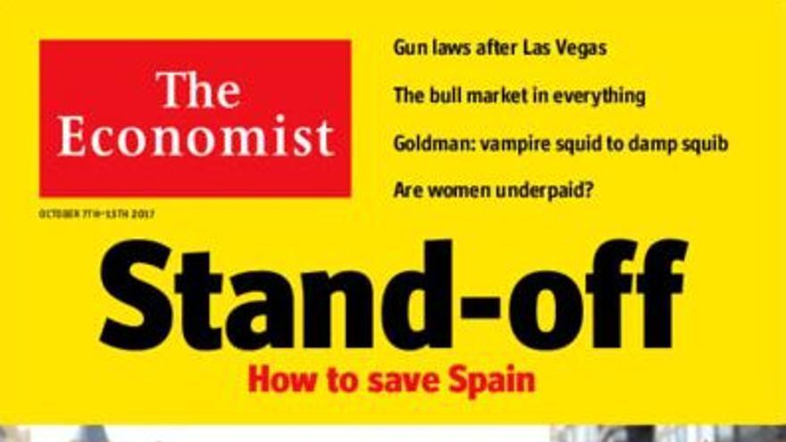 Portada de The Economist dedicada a Catalunya