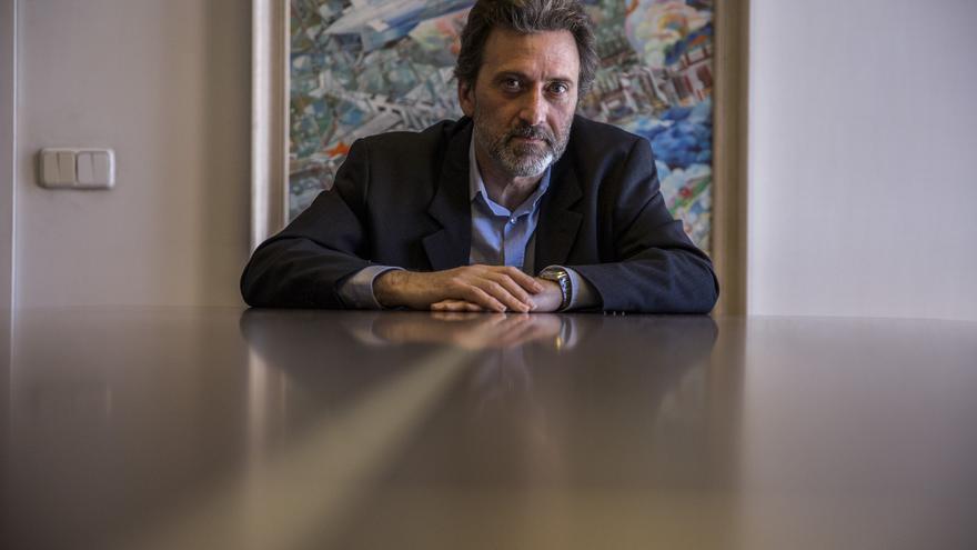 El concejal de Ahora Madrid y coportavoz de IU Madrid, Mauricio Valiente.