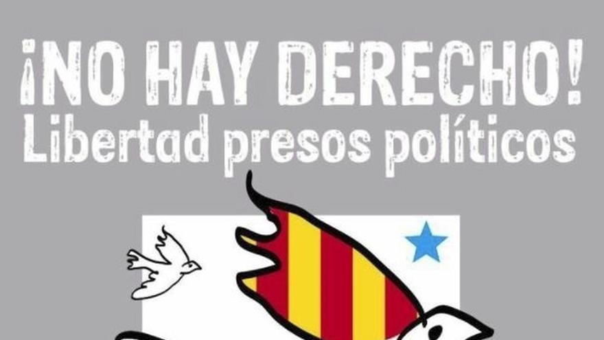 """Madrileños por Derecho a Decidir convoca concentración en Sol el domingo en apoyo a los """"presos políticos"""" de Cataluña"""