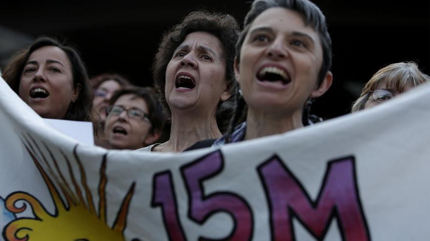 El 15M ha apoyado la convocatoria contra la troika de Madrid