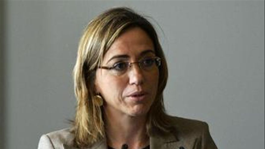 La ministra de Defensa, Carme Chacón. (EP)