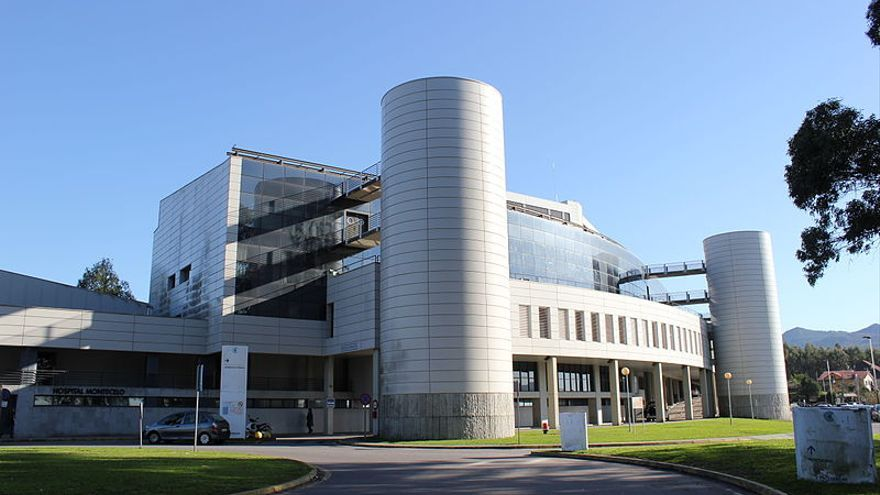 Hospital de Montecelo, en Pontevedra