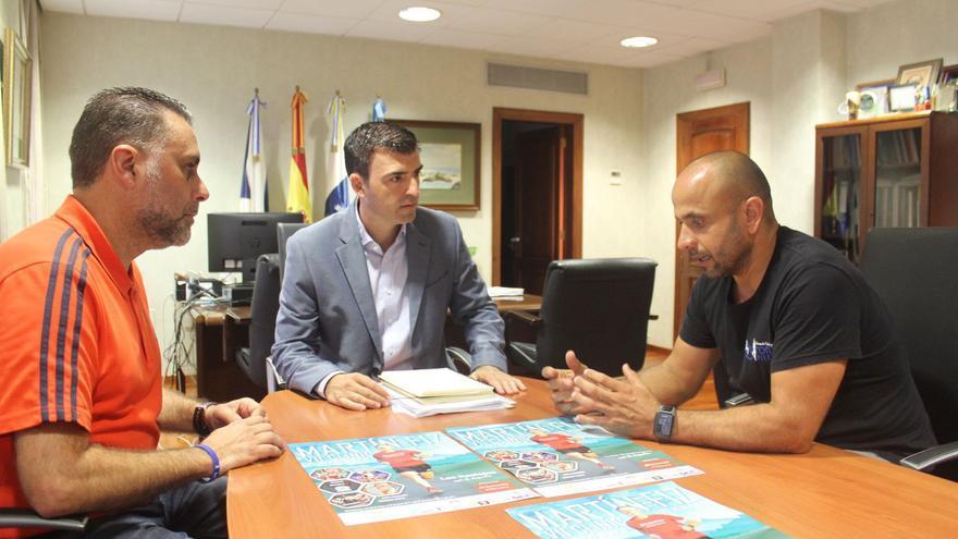 Los organizadores mantuvieron esta semana una reunión de trabajo en el Ayuntamiento de Los Realejos