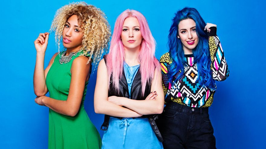 La banda Sweet California.