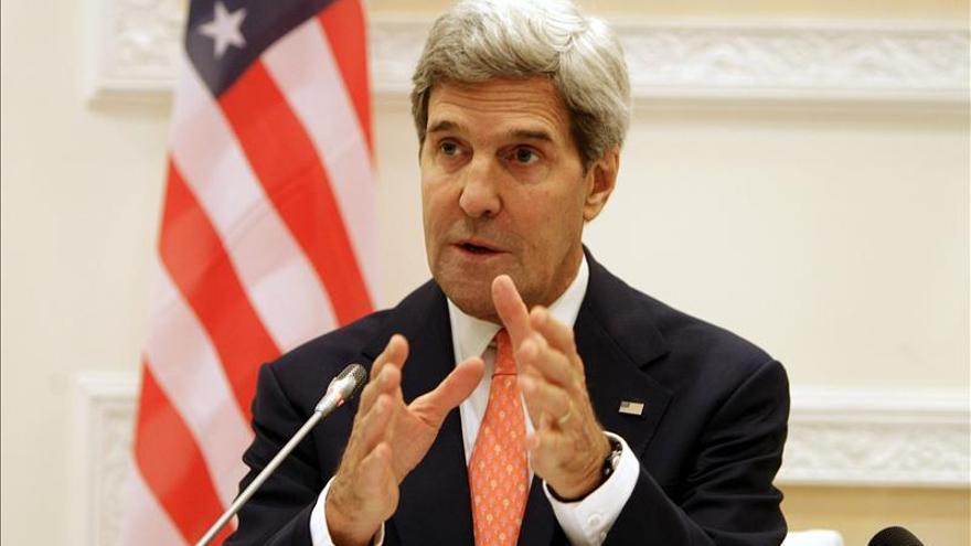 Kerry promete avances en la destrucción de armas químicas de EE.UU. en Panamá