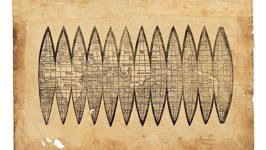 Sale a subasta el mapa del siglo XVI que nombró América por primera vez