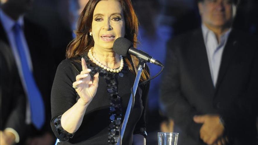 La presidenta argentina anuncia que ganó el juicio por difamación a un diario italiano