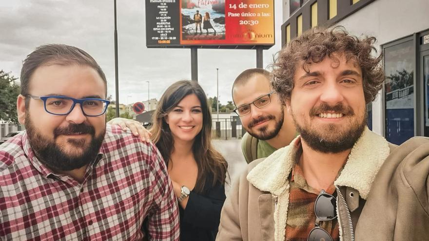 'La Palma' es una producción de Dreifilm en coproducción con la productora local Enróllate Films