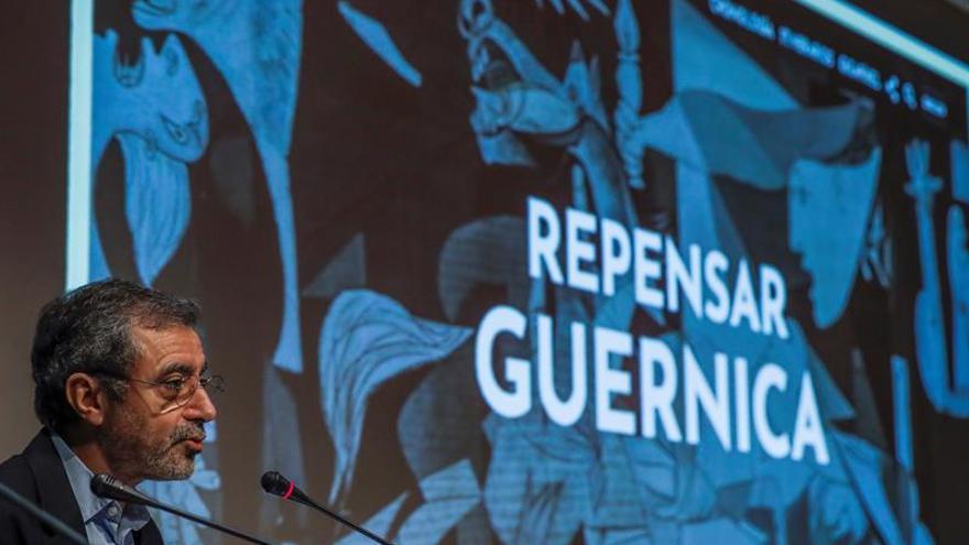 """El """"Guernica"""", """"repensado"""" y al detalle en una monumental web del Reina Sofía"""