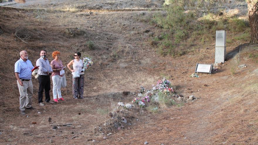 Homenaje a Milagros Almenara y al resto de fusilados junto con Federico García Lorca