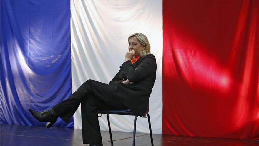 El FN ganaría las europeas con una abstención récord, según un sondeo