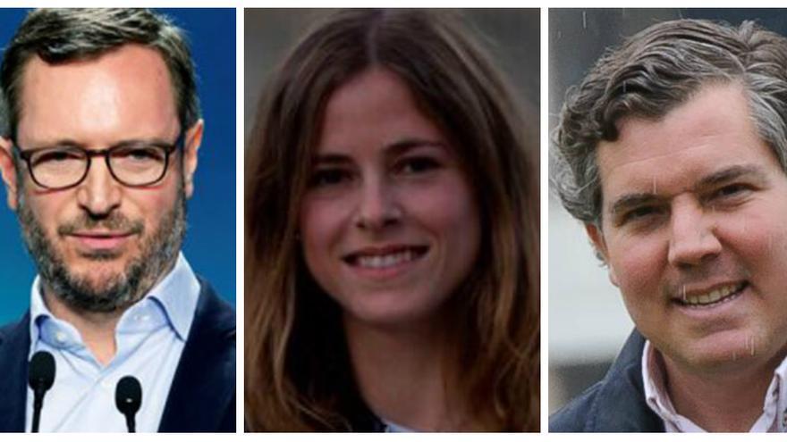 Maroto, Fanjul y Arcauz, candidatos del PP en las generales de abril