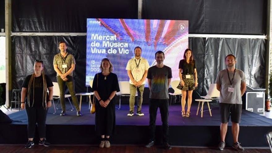 Presentación de Basque. Music en el Mercat de Vic
