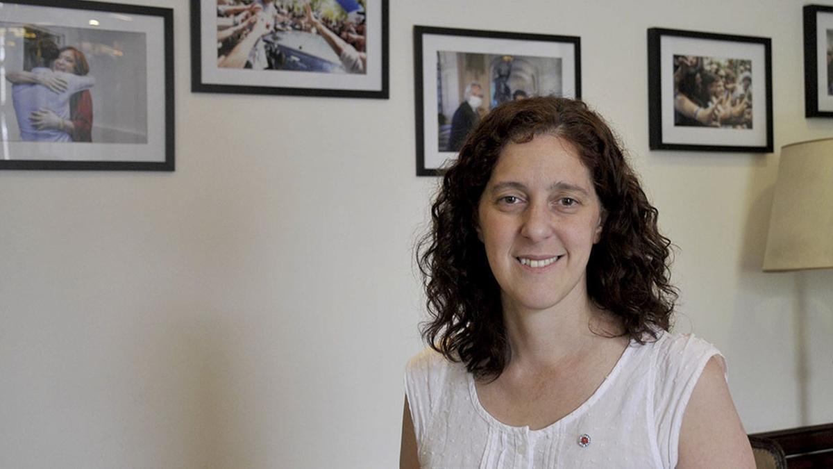 La ministra de Comunicación Pública, Jésica Rey, explicó qué pasó con Sarlo.
