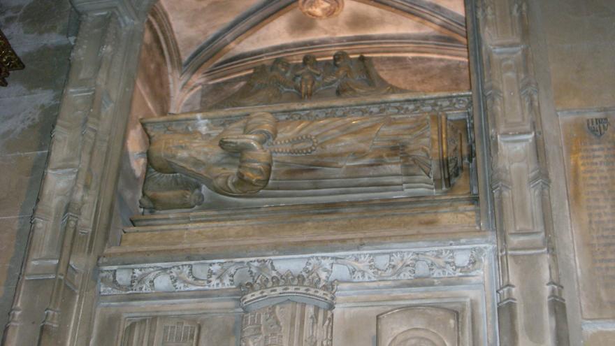 Tumba de Ramón Llull en la Basílica de Sant Francesc (Palma de Mallorca)