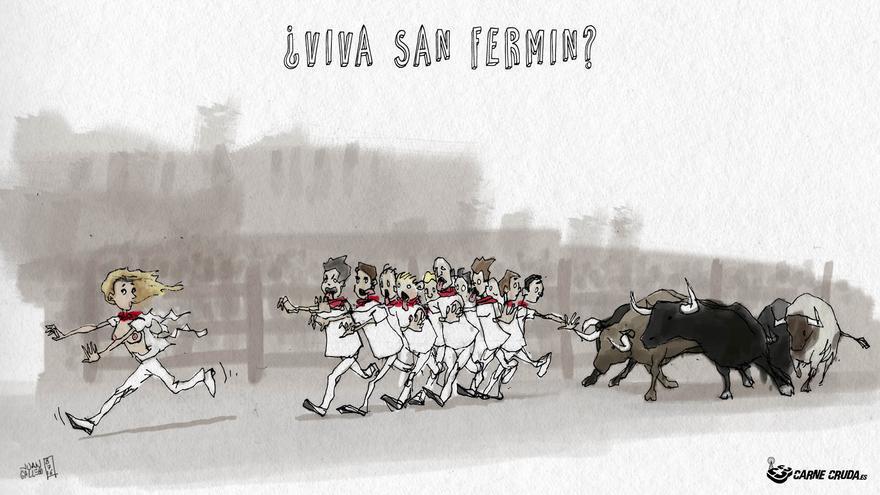 ¿Viva San Fermín?