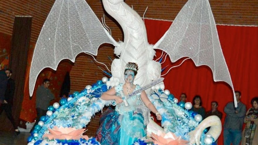 Reina del Carnaval 2018 en Mota del Cuervo (Cuenca) FOTO: Las Noticias de Cuenca