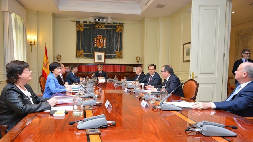 Beaumont participa en la reunión de la Comisión Nacional de Coordinación de la Policía Judicial
