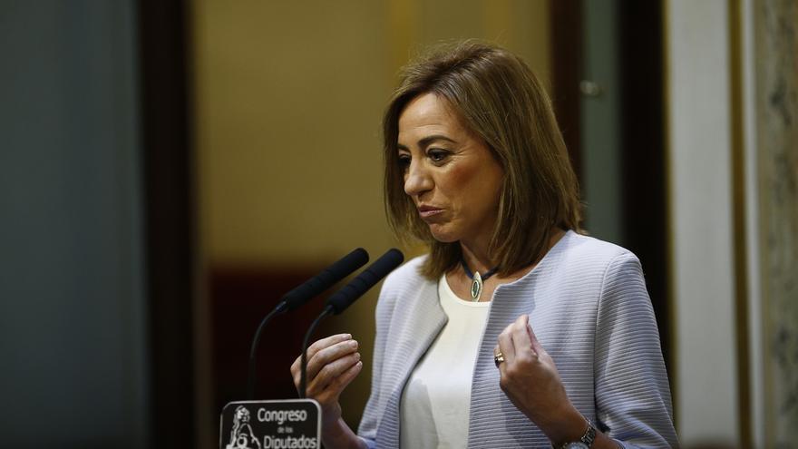 """Armengol lamenta el fallecimiento de Carme Chacón y destaca que """"luchó hasta el final en la defensa de la igualdad"""""""