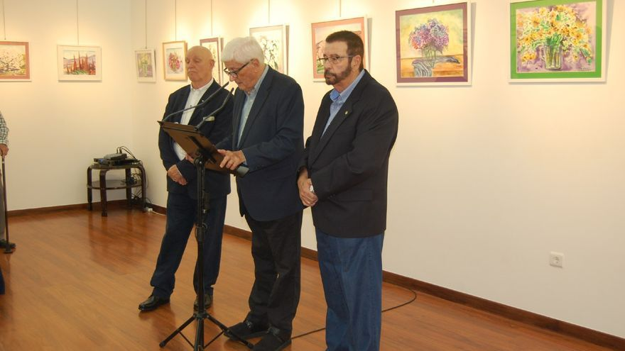 La exposición de pintura se inauguró el pasado viernes día 25.
